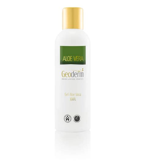 gel 100 naturel gel 100 aloe vera y ecol 243 gico geoderm