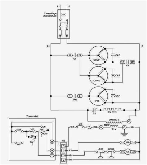 air conditioner wiring diagram wiring diagram and