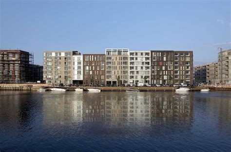 New Home Design Jobs by Sluseholmen Copenhagen Housing E Architect
