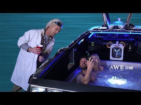 hot tub time machine bathroom scene delorean hot tub time machine video worldwideinterweb