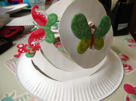How To Make A Paper Easter Bonnet - easter decorations to make with how to make an