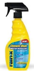 Rainx Shower Door X Shower Door Water Repellent Spray Bottle Ebay