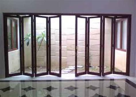Pemotong Kaca Yg Bagus Pintu Lipat Aluminum Elegan Harga Terjangkau Partisi Pintu