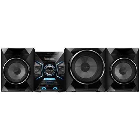sony lbtgpx55 shelf top audio system with bluetooth nfc