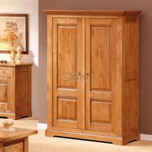 armoire penderie 2 portes ch 234 ne massif de ou