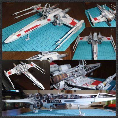 X Wing Papercraft - 4310 best card models images on paper models
