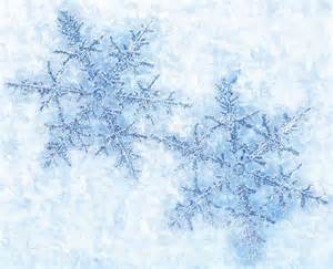 New Home Christmas Decoration beautiful blue snowflakes isolated on snow winter holiday