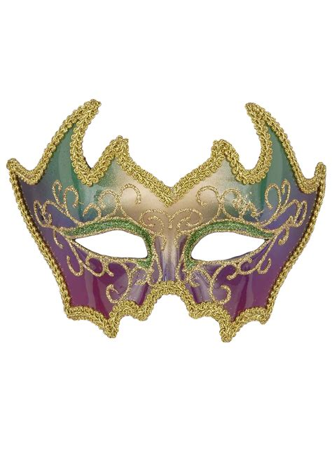 How To Make A Mardi Gras Mask Out Of Paper - deluxe mardi gras mask