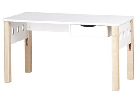 Flexa H 246 Henverstellbarer Schreibtisch Wei 223 Birke Flexa