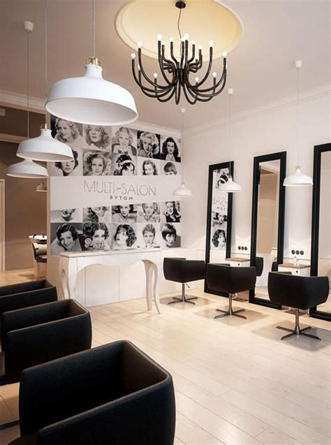 hairdressing salon hairdresser interior design in bytom poland archi