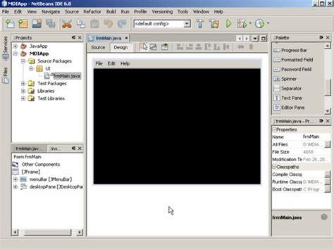 membuat window mdi pada java netbeans aplikasi multiple inixindo surabaya membangun aplikasi java mdi multiple