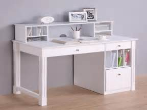 Solid White Desk White Computer Desks White Deluxe Solid Wood Desk With