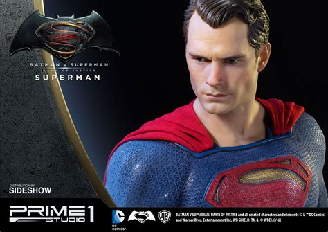 Batman V Superman 1 superman statue from batman v superman by prime 1 studio