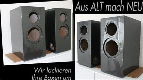 Lackieren Lautsprecher by M 246 Bel Lackierung Nrw Holzlackierungen Oberhausen