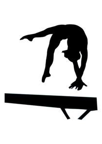 Gymnastics Wall Stickers 28 best images about gymnastics silhouettes on pinterest