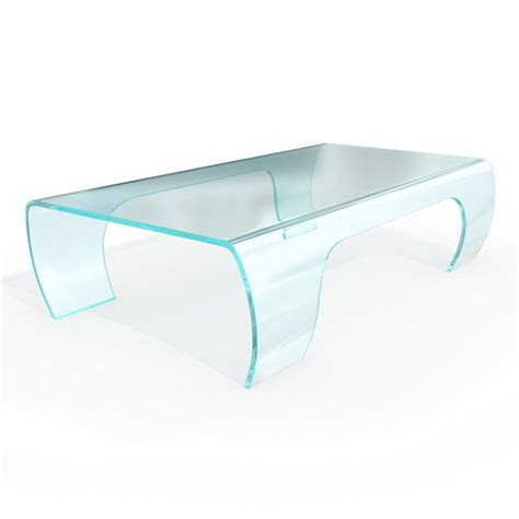 modern bent glass coffee table 3d model 3dsmax files
