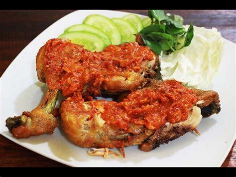 inilah resep ayam penyet layaknya hidangan restaurant