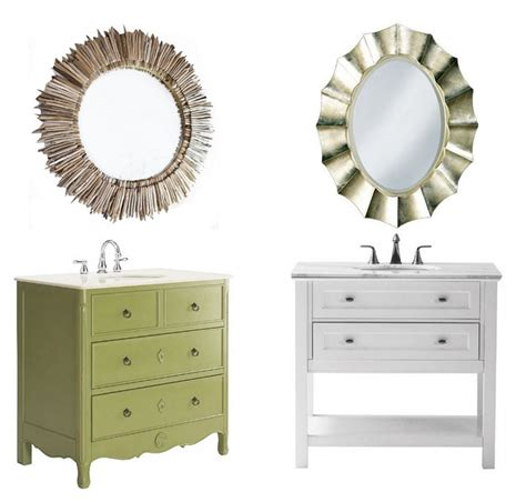 Vanity And Mirror by Bathroom Vanity Mirror Medleys Centsational