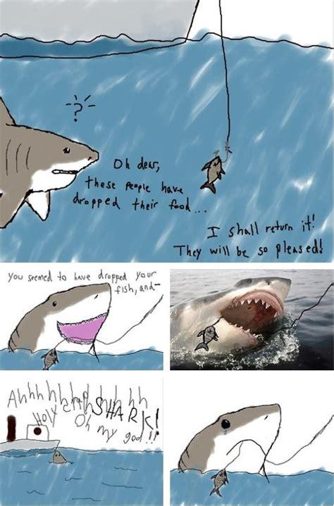 Sad Shark Meme - because it s shark week imgur shark week pinterest
