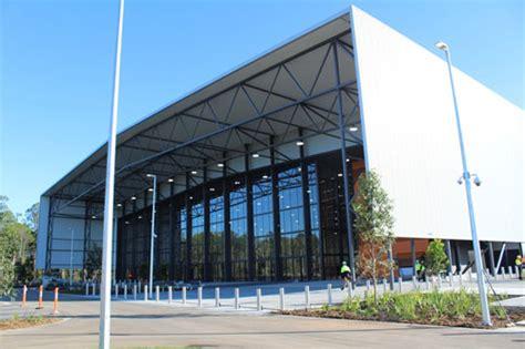 Basketball Arena Floor Plan City Of Gold Coast Coomera Indoor Sports Centre
