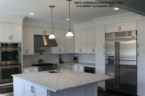 White Carrara Marble Kitchen Countertops by Remodeling Your Home With Granite Marble White Carrara