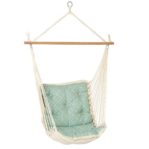 1 Person Hammock Tufted Single Person Swinging Hammock From Brookstone Things