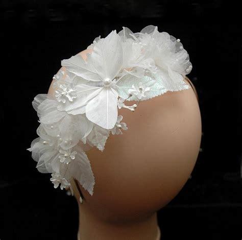 Butterfly Hair Accessories For Weddings by Flower Wedding Headband Butterfly Headpiece Bridal