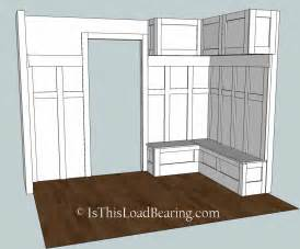 Home Plans With Mudroom Mudroom Plan A Is This Load Bearing