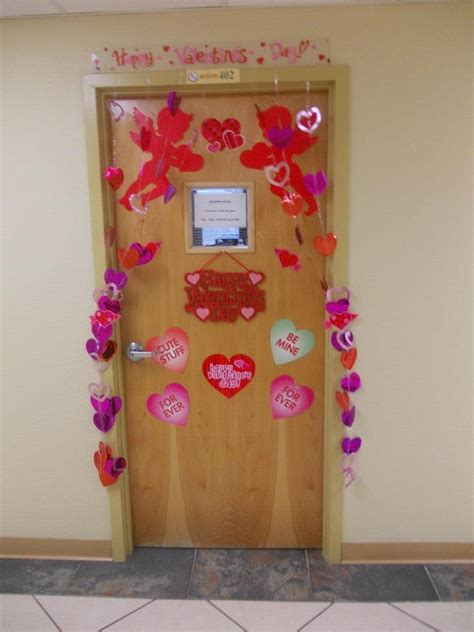 valentines door ideas door with s day decorations the apartment