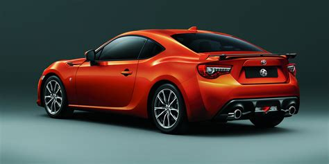 automobile toyota 2017 toyota 86 updated and uprated sports car confirmed