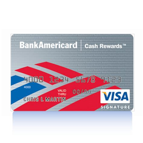 Bofa Visa Gift Card - secured business credit cards bank of america choice image card design and card template