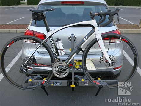 Road Bike With Rack Mounts by Review Saris Freedom Hitch Rack Road Bike News Reviews