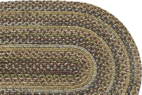 kitchen braided rugs highland forest kitchen wool braided rug