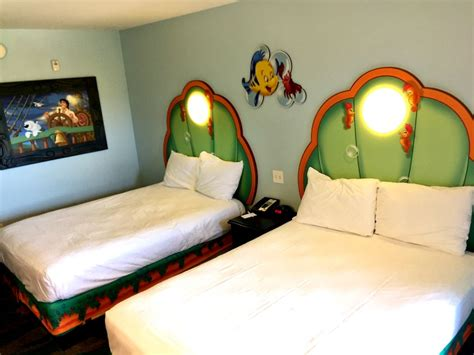mermaid room of animation disney s of animation resort mermaid rooms travelingmom