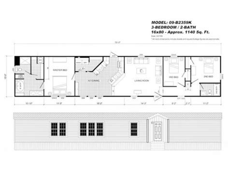 16 by 80 mobile home floor plans 16 215 80 mobile home floor plans 20 photos bestofhouse