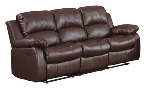 Faux Leather Recliner Sofa by The Best Reclining Sofas Ratings Reviews Cheap Faux