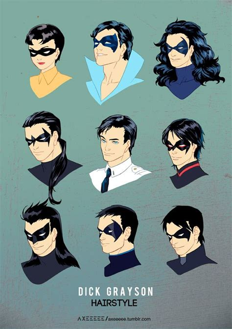 nightwing hairstyle dick grayson photo dick grayson pinterest