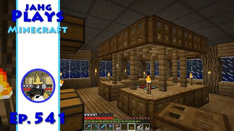Minecraft Enchanting Table Bookshelves Jahg Plays Minecraft 541 Enchanting Room Layout Youtube