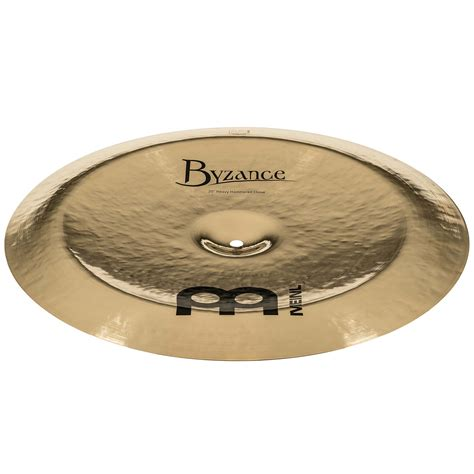 Meinl Cymbal Byzance Traditional China 20 meinl byzance brilliant 20 quot heavy hammered china 171