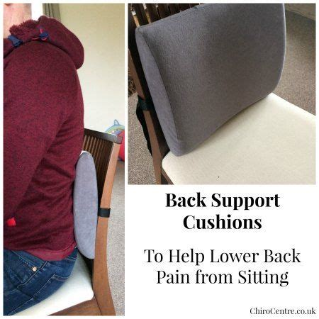 3 best back support cushions 2017 for lower back