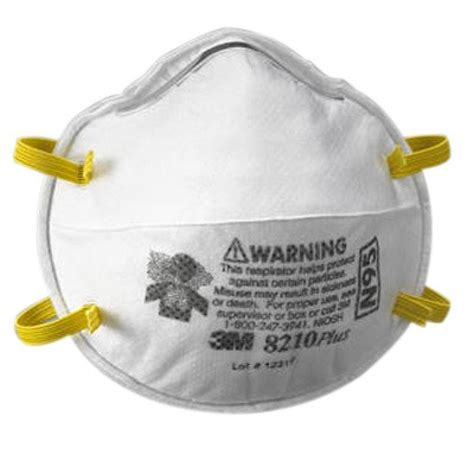 Masker N95 3m by 3m 8210 Plus Respirator N95 3m Respirators 3mm8210plus