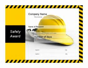 safety certificate template safety award certificate memes