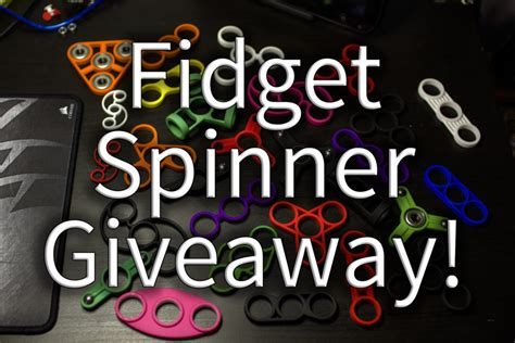 Spinner Giveaway - fidget spinner poll and giveaway idle hands project archive