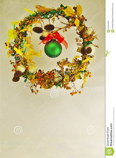 wreath stock photo image 61004356