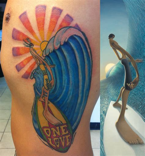 surfing tattoos surf tattoo images austin tattoo
