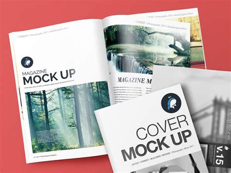 mockup magazine cover templates tinydesignr