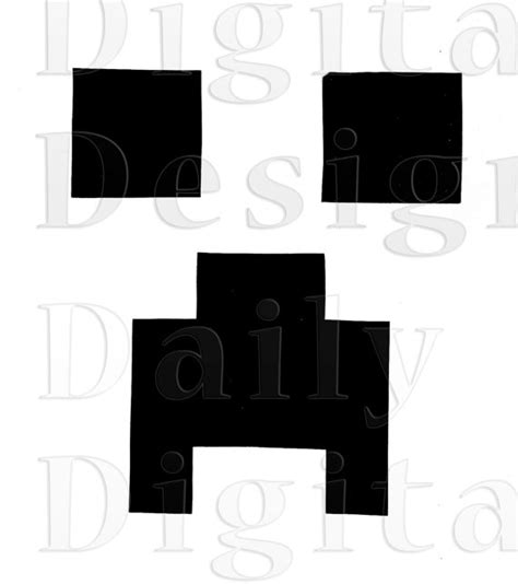 minecraft face template pictures to pin on pinterest