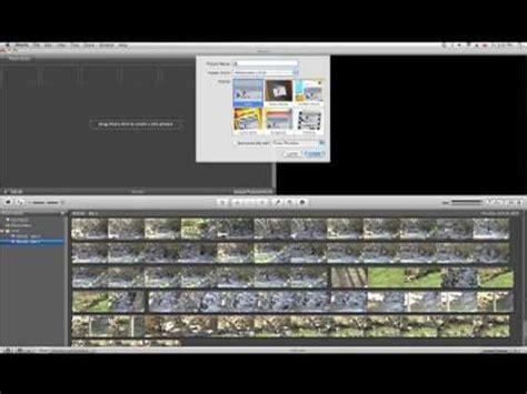 tutorial on imovie 09 jvc everio tutorial edit with imovie 09 youtube