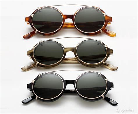 han eyewear doc clip on sunglasses