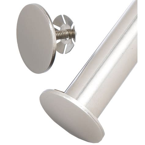 Closet Pole End Caps by Freedomrail Closet Rod Stops Nickel Set Of 2 In